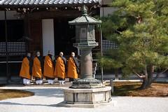 Daikaku ji Temple (Seventh Heaven Photography *) Tags: kyoto japan nikon d3200 daikaku ji temple monks orange monument stone
