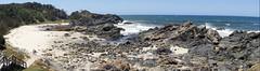 Rocky Cove (Cassandra Dray) Tags: ocean sea beach port macquarie nsw australia rocks