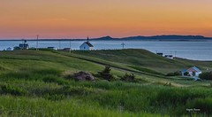 A summer evening (Angela Vezina) Tags: canada flickr explore create sunset magdalenislands island green sea colors nature summer nikon digital landscape