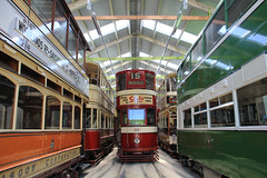 In the tram shed (jpotto) Tags: uk derbyshire crich crichtramwaymuseum tram trams transport eastmidlands ambervalley