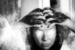 Le chat noir ([marta díez . fotografía]) Tags: autorretrato selfportrait me blancoynegro bw misterio mistery magia witch bruja brujeria