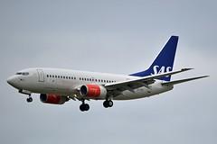 """""""Svein Viking"""" SAS Scandinavian Airline System SE-RER Boeing 737-7BX cn/30736-658 @ Zwanenburgbaan EHAM / AMS 16-08-2018 (Nabil Molinari Photography) Tags: sveinviking sas scandinavian airline system serer boeing 7377bx cn30736658 zwanenburgbaan eham ams 16082018"""