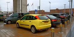 Focus Millenium (Sam Tait) Tags: ford focus millennium retro rare limited ltd edition car yellow 18 1800 16v 2000 liverpool