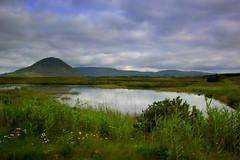 Irish landscape (annalisabianchetti) Tags: ireland irlanda europa travel paesaggio landscape clouds nuvole sky lake connemara beautiful irish