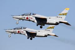 96-5778_KawasakiT-4Pair_JapanASDF_RJNH_Img01 (Tony Osborne - Rotorfocus) Tags: kawasaki t4 hamamatsu air japan selfdefense force jasdf 2018 ab dolphin