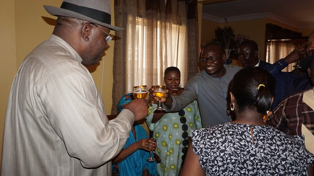 HSDickson-  His Excellency At The Birthday Celebration Of Major Lancelot's Mother In-Law. Lagos November 2018.