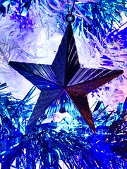 The Christmas Star (OwenSPhotography) Tags: darkblue lightblue stars star