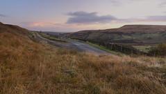 Old Mount Road, Marsden at sunrise. (kyliepics) Tags: olympus e520 evolt520 olympuszuikodigital1122mmf2835 srbpsizend093stopfilter darktable