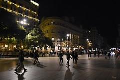De nit, a ciutat (CarmeCL) Tags: barcelona nit carrers ciutat nadal