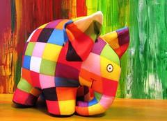 Elmar (hussi48) Tags: bunt elmar kinderbuch spielzeug multicolora smileonsaturday
