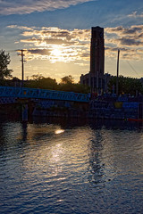 Sanset on Canal Lachine (Hovig) Tags: