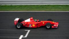 Fake Panning (Experiment) (Mattia Manzini Photography) Tags: ferrari f1 supercar supercars cars car carspotting nikon d750 automotive automobili auto automobile autodromo monza formula1 racetrack racecar red