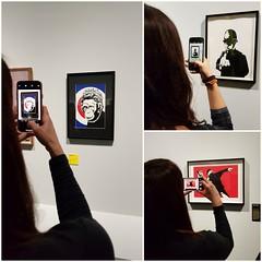 Lo sguardo degli altri (elen@c) Tags: museo mudec banksy peolpe collage elenc
