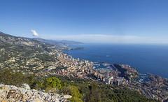 The sky over Monaco (Fil.ippo) Tags: têtedechien montecarlo monte carlo turbie liguriansea sea mare ligure liguria seascape cityscape landscape water sky clouds city over top filippo filippobianchi d610 nikon