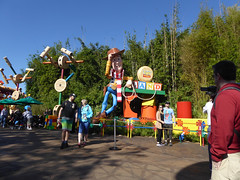Florida Day 4 - 021 Disneys Hollywood Studios Toy Story Land (TravelShorts) Tags: wdw walt disney world disneys hollywood studios florida orlando fantasmic frozen vine star wars tower terror