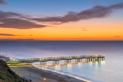 Boscombe Dawn (nicklucas2) Tags: seascape beach boscombe bournemouth dorset sea seaside sand pier sunrise cloud