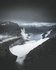 Trolltunga, Norway (the-wanderlust) Tags: journey landscape landscapes uncategorized wanderlust