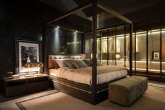 Mazzali bedroom (MAZZALI bespoke italian furniture) Tags: mazzali design interior bedroom madeinitaly canopy bed baldacchino letto bespoke