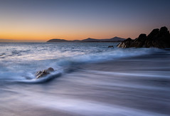 Morning Light (maryhahn265) Tags: seascape rocks sunrise mountains waves sea