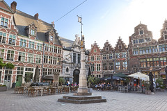 Sint-Veerleplein (Naval S) Tags: square ghent gent belgium townsqaure architecture