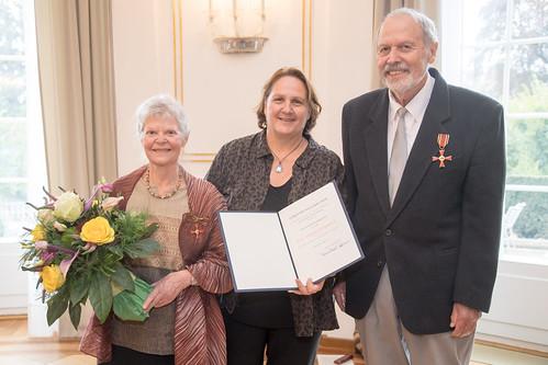 Verdienstkreuz am Bande für Elisabeth und Dr. med. Karl-Horst Marquart