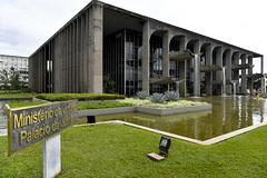 Fotos produzidas pelo Senado (Senado Federal) Tags: bie ministériodajustiça paláciodajustiça esplanadadosministérios espelhodágua cascataartificial fachada sede gramado brasília df brasil bra