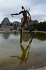 Nepture [Valencia - 29 January 2019] (Doc. Ing.) Tags: 2019 nikond5100 valencia hortadevalència comunitatvalenciana comunidadvalenciana spain metal iron irondetails detalhesemferro turia turiariver turiagardens neptune statue sculpture