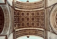 Arc de Triomphe (2/2) (joanneclifford) Tags: remembrance xf1855 fujifilmxt20 architects architecture memorialflame triumphalarch unknownsoldier napoleonicwars champsélysées louisphilippe monument arch paris napoleon arcdetriomphe