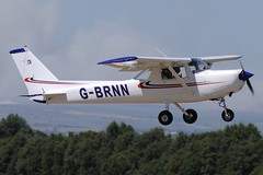 G-BRNN (LIAM J McMANUS - Manchester Airport Photostream) Tags: gbrnn easternairexecutive cessna c152 cessna152 barton cityairportmanchester egcb