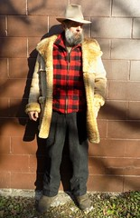 11-11-2018 Today's Clothes (Michael A2012) Tags: this mans winter style vintage fashion stetson royal deluxe open road fedora hat fur felt 1950s ardney shearling lamb toggle coat emu sheepskin woolrich wool minnesota woolens impermeable silk cashmere