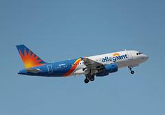 N316NV Airbus A319-111 Allegiant Air (corkspotter / Paul Daly) Tags: n316nv airbus a319111 a319 2481 l2j a35e5b aay g4 allegiant air 2005 davyv 20180315 gezik klas las vegas