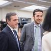 José Vicente Marí y Víctor Píriz en la Comisión de Presupuestos. (15/11/2018)