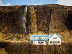Blue House Iceland (kckelleher11) Tags: 1240mm 2016 house iceland olympus blue em1 mzuiko omd