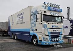 DSC_0001 (richellis1978) Tags: truck lorry cannock haulage transport logistics daf healeys removals 50th anniversary sj15fkr