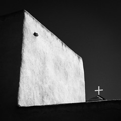 San Francisco de Asis Mission Church No. 2 (Mabry Campbell) Tags: flickrexplore explored explore h5d50c hasselblad newmexico sanfranciscodeasismissionchurch stfrancis stfrancisofassisi taos taoscounty usa unitedstatesofamerica adobe blackandwhite building church fineart fineartphotography historic image landmark mission monochrome old photo photograph religion squarecrop touristattraction f71 mabrycampbell december 2016 december272016 20161227campbellb0001107 80mm ¹⁄₈₀₀sec 100 hc80 fav10 fav20 fav30 fav40 fav50 fav60 fav70 fav80 fav90 fav100