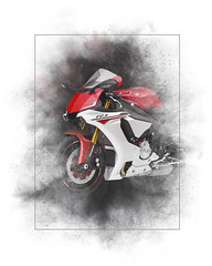 Yamaha YZF-R1 Painting (Stephen Smith Galleries) Tags: yamaha yamahayzf yamahayzfr1 yamahayzfr1bike yamahayzfr1motorbike yamahayzfr1motorcycle bike motorbike motorcycle japanese