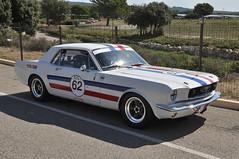 Ford Mustang 289 - 1966 (jfhweb) Tags: jeffweb sportauto sportcar racecar voituredecollection voiturehistorique vehiculehistorique voituredecourse courseautomobile circuitpaulricard circuitducastellet lecastellet 10000toursducastellet 10000tours heritagetouringcup htc ford mustang