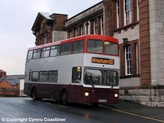 A Day in the Life (2) (Cymru Coastliner) Tags: ghacoaches volvoolympian northerncounties r638mnu bus ruthin northwales