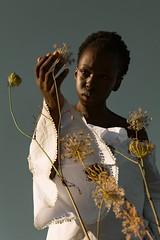 La douce caresse du soleil d'automn (silvano.fortunato) Tags: conceptual best mood photography photovogue portraiture portrait shadow light beautiful pic posing girl woman black model