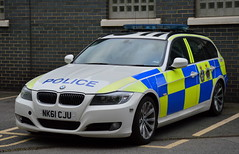Durham Constabulary - NK61 CJU (Chris' 999 Pics) Tags: durham october 2016 constabulary bmw 330d 3 series diesel rpu roads policing unit traffic car pursuit vehicle anpr automatic number plate recognition 999 112 emergency police nk61cju