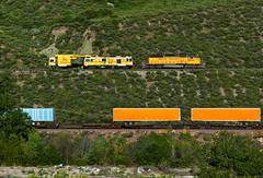 Northbound Welder (Erie Limited) Tags: cajonpassca cajon emd sd402 unionpacific up mojavesubdivision plasser welder train railfan railroad