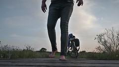 wet jeans (marcostetter) Tags: nature barefoot jeans wetjeans wetlook wet wetclothing wetclothes wetpants landscape bodyart bluejeans