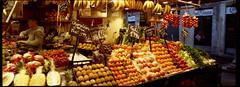 barcelona_boqueria_market_xpan (faustosiopasinatiss) Tags: barcelona bcn spain boqueria market marchet film fujifilm xpan hasselblad filmpgotography ishoorfilm analog analogphotography fruit colors colours