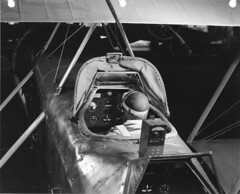 --boeing 40b with hooded cockpit c31 (San Diego Air & Space Museum Archives) Tags: aviation boeingschoolofaeronautics cockpit boeing boeingmodel40 boeing40 boeingmodel40b boeing40b airplane aircraft biplane