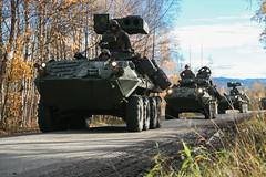 U.S. Marines Send and Receive Convoys in Norway (jcccdimoc) Tags: tridentjuncture18 trje nato iimef 2dmlg convoy lar 2dlar lav norway no