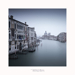 Venise #3 (David MONSU Photography) Tags: venise venice italy venezia travel art italia photography canon5d longexposure monochrome church palais grandcanal palace vacation tourisme