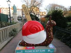 FABtastic (31) (wallygrom) Tags: england sussex eastsussex brighton snailtrail sculpturetrail snailspace bemoresnail sculptures