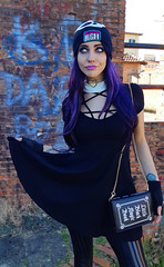Monster High Girl (Nicole Argento) Tags: alternative colors creepy cute dark doll fashion girl goth gothgirl gothic hair high human lady magic monster occult outfit purple style violet witch witchy altfashion gothstyle witchystyle skullgirls monsterhunterfanart monsterhigh monsterhighoriginalcharacter