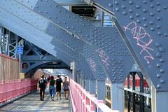 adek adek adek (Luna Park) Tags: ny nyc newyork williamsburg bridge graffiti tag adek btm lunapark