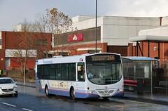 First Glasgow YJ05 VVO (66771) | Route 266 | West Hamilton St, Motherwell (Strathclyder) Tags: first glasgow firstglasgow volvo b7rle wright eclipse urban yj05vvo yj05 vvo 66771 west hamilton street motherwell north lanarkshire scotland olympialivery blantyre sv823 firstwestyorkshire
